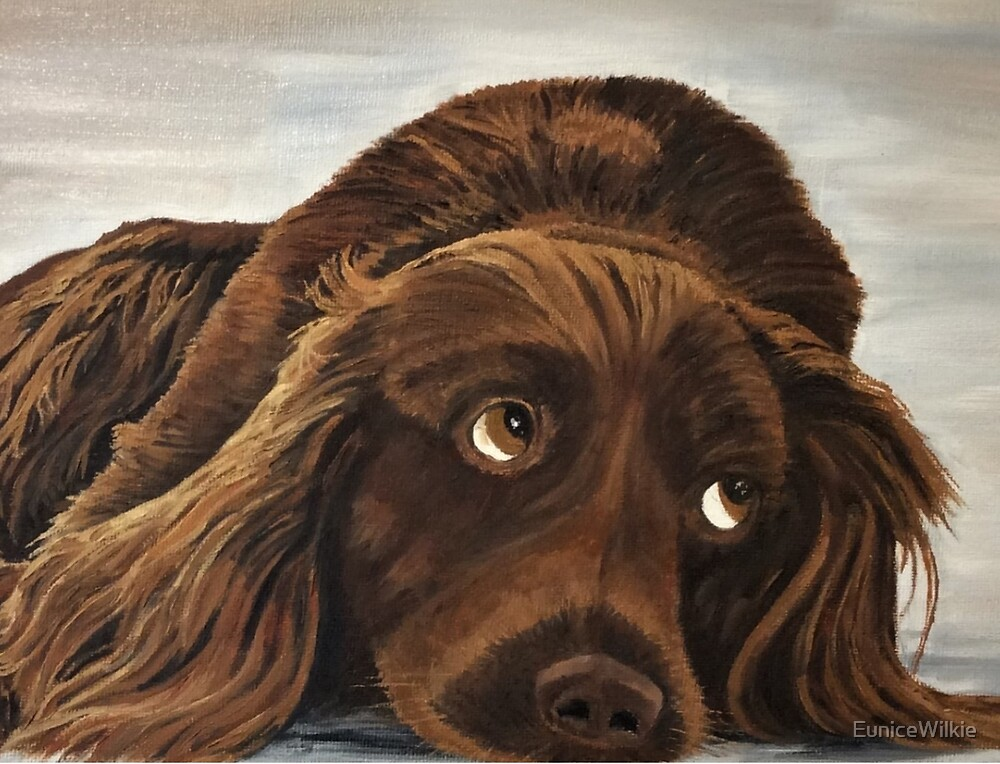 Spaniel Appeal - Bedding & Blankets by EuniceWilkie