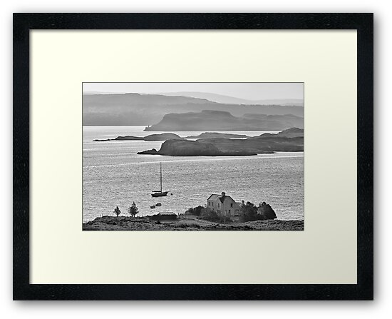 Loch Dunvegan from Colbost, Isle of Skye by ExclusivelyMono