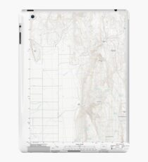 USGS Topo Map Oregon Mahon Creek 20110831 TM iPad Case/Skin