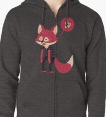 Good Morning Fox Zipped Hoodie