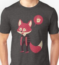 Good Morning Fox Unisex T-Shirt