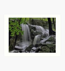 Appalachian Trail Waterfall Art Print