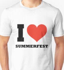 I love Summerfest Unisex T-Shirt