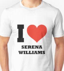 I love Serena Williams Unisex T-Shirt