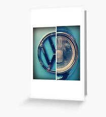 VW Camper Van 2 Greeting Card