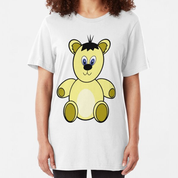Teddy Bear needs a Cuddle Slim Fit T-Shirt