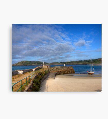 Douglas Quay & Braye - Aldeney Canvas Print