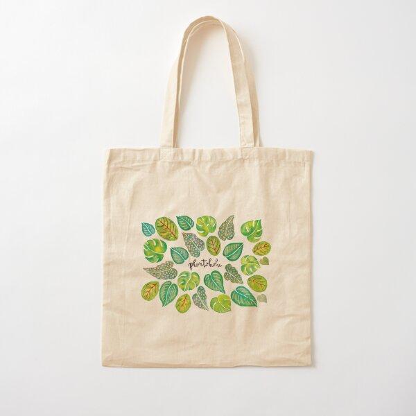 Plantoholic Cotton Tote Bag