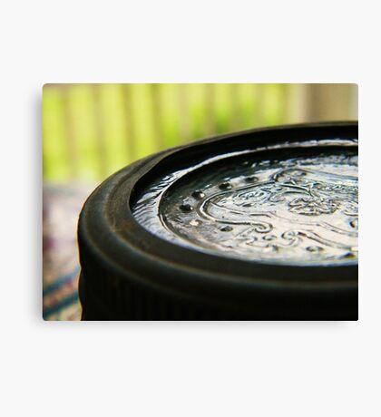 Jar Top (Petrolia Discovery) Canvas Print