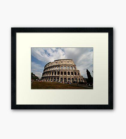 Colosseum in Colour Framed Print
