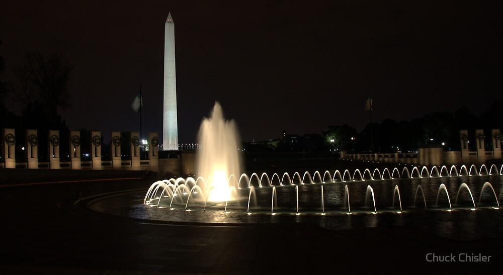 Washington from WWII by Chuck Chisler