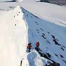 Looking down from Trollsteinen by Algot Kristoffer Peterson