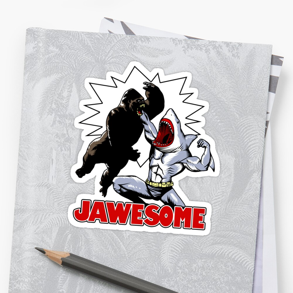 Jawesome! by ninjaink