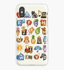 Alphabet  iPhone Case/Skin