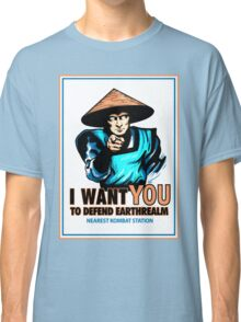 I Want YOU For Kombat Classic T-Shirt