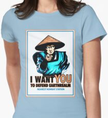 I Want YOU For Kombat Women's Fitted T-Shirt