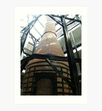 Former Industrial Furnace, Converted Factory to Residence, Jersey City Art Print