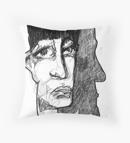 Step Back Throw Pillow