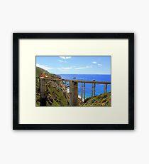 The Bixby Bridge in Big Sur, CA Framed Print
