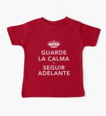 Guarde La Calma Y Seguir Adelante Kids Clothes