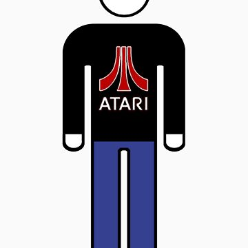Atari Man by stixcreatur
