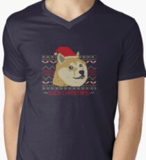 Such Christmas! Men's V-Neck T-Shirt