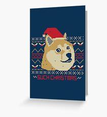 So ein Weihnachten! Grußkarte