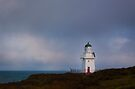Waipapa Point lighthouse by Odille Esmonde-Morgan