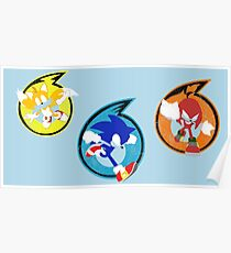 Team Sonic Poster