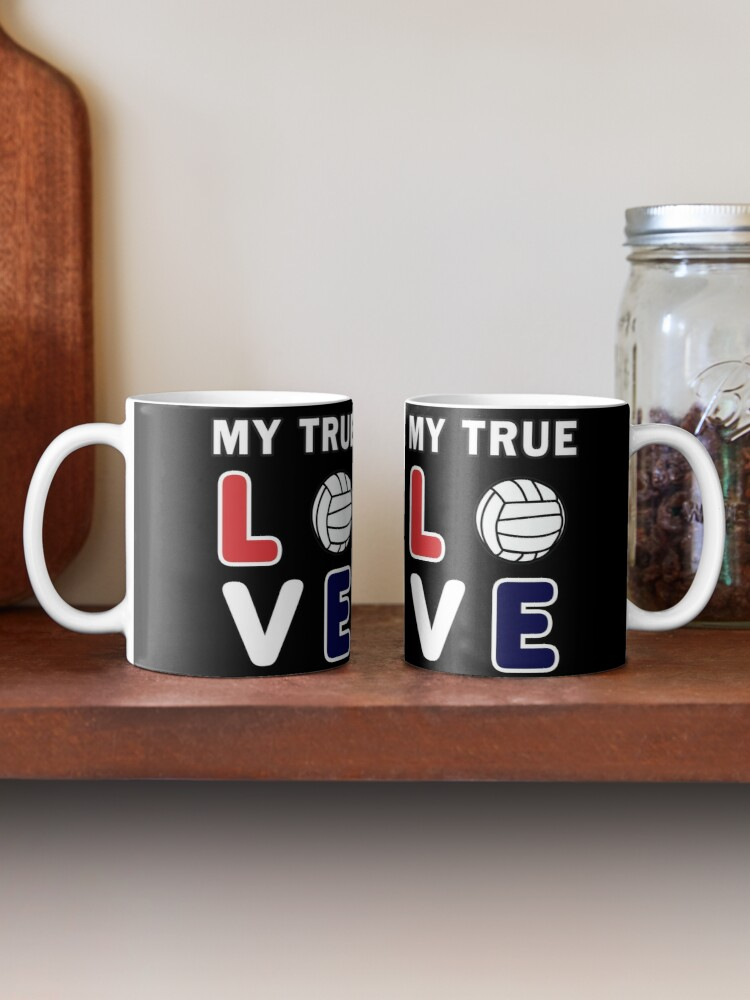 Alternate view of Volleyball Lover, Teen girls player funny Gift. Mug