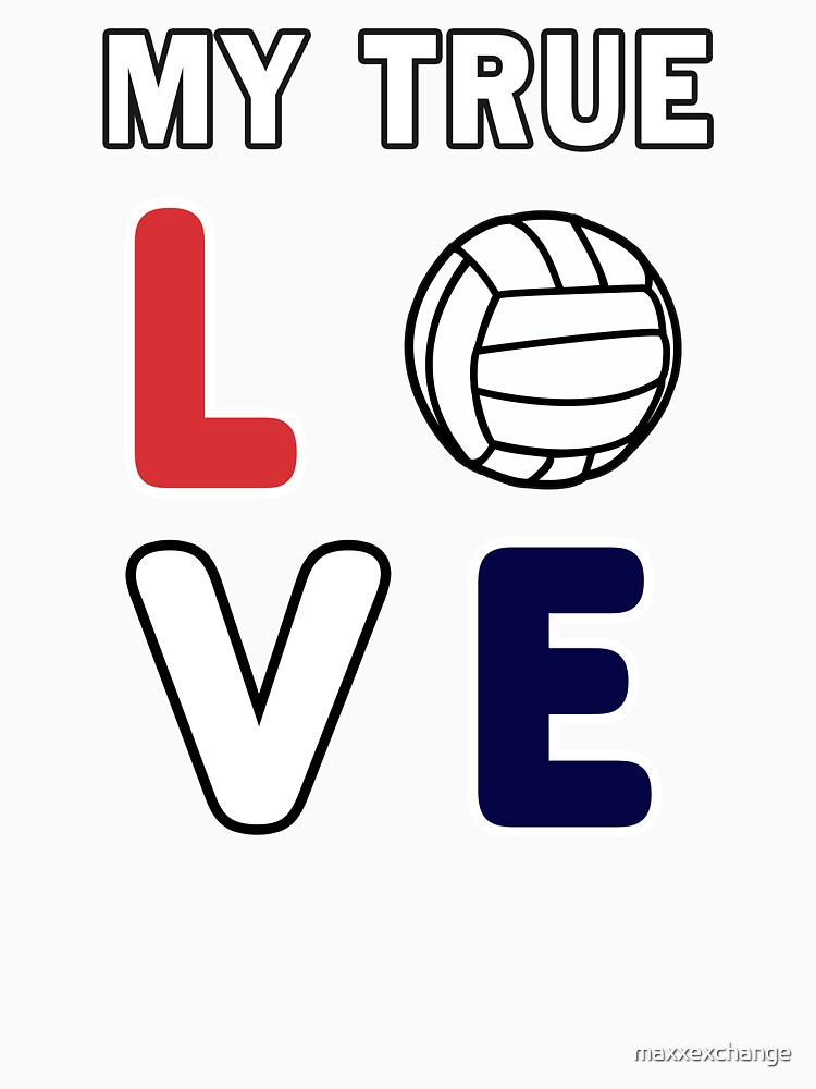 Volleyball Lover, Teen girls player funny Gift. by maxxexchange