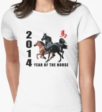 2014 Year of The Horse Womens Fitted T-Shirt