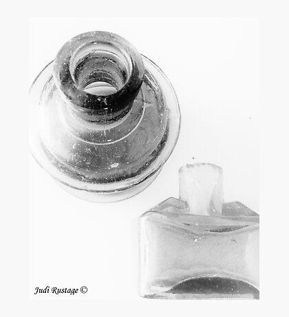 Antique Ink Bottles Photographic Print