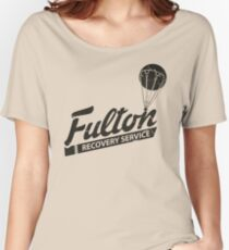 Fulton Recovery Service - Damaged Women's Relaxed Fit T-Shirt