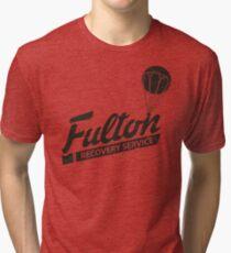 Fulton Recovery Service - Damaged Tri-blend T-Shirt