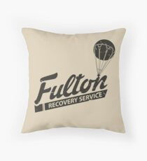Fulton Recovery Service - Damaged Throw Pillow