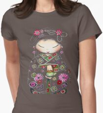Little Green Teapot TShirt by Karin Taylor Women's Fitted T-Shirt