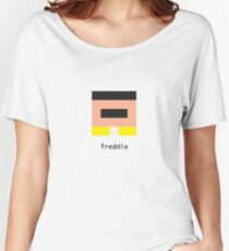 Pixelebrity - Freddie Women's Relaxed Fit T-Shirt