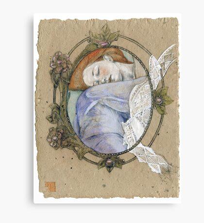 Cameos sleep  too Canvas Print