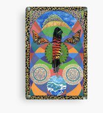 Rain Goddess Canvas Print