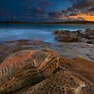 Sunset at Maroubra by Mark  Lucey