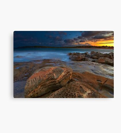 Sunset at Maroubra Canvas Print