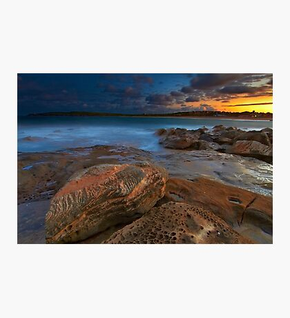 Sunset at Maroubra Photographic Print