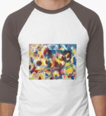 Lindees Drawing Day Men's Baseball ¾ T-Shirt
