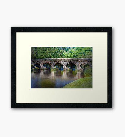 Withypool Bridge Framed Print