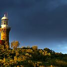 Barrenjoey Lighthouse at dusk by Melissa Fiene