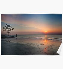 Serenity at Sunrise  Poster