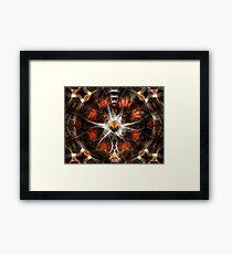 Flight Of Fire Framed Print