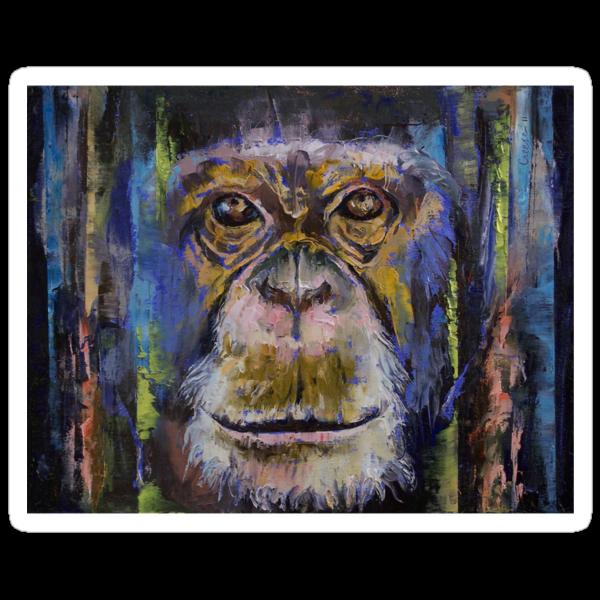 Chimpanzee by Michael Creese