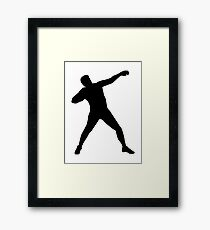 Shot put Framed Print